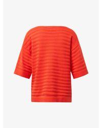 Tom Tailor Red Kurzärmliger Pullover