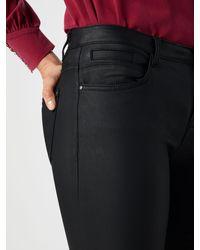 Tom Tailor Black Jeans 'coated slim ALEXA'