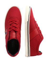 Polo Ralph Lauren Sneaker 'HANFORD SPORT' in Red für Herren