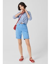 S.oliver Blue Shorts