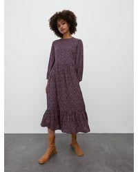 EDITED Purple Kleid