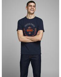 Jack & Jones T-Shirt in Blue für Herren