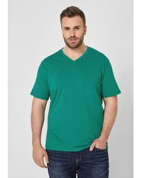 S.oliver Shirt in Green für Herren