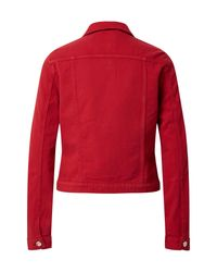 ONLY Red Jeansjacke