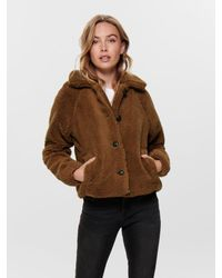 ONLY Brown Jacke