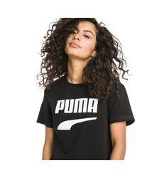 PUMA Black Downtown T-Shirt