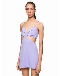 Pepe Jeans Purple Kleid