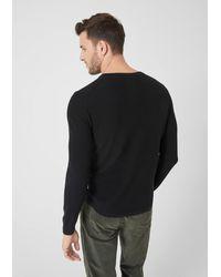 S.oliver Pullover in Black für Herren