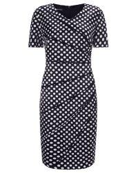 Gerry Weber White Spot Print Dress