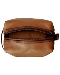 Fossil - Natural Travel Pouch - Lyst