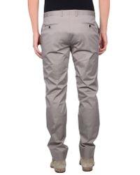 Liu Jo - Gray Casual Trouser for Men - Lyst