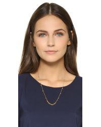 Gorjana - Metallic Chloe Mini Long Necklace - Lyst