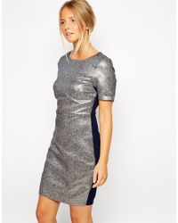 Sugarhill - Blue Betsy Dress - Lyst