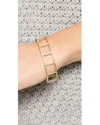 Madewell - Metallic Tracecraft Bangle Bracelet  Vintage Gold - Lyst