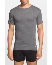 Polo Ralph Lauren | Gray Slim Fit Crewneck T-Shirt, (3-Pack) for Men | Lyst