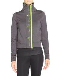 Adidas By Stella McCartney Gray 'the Midlayer' Training Jacket