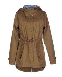 Vero Moda - Natural Full-length Jacket - Lyst