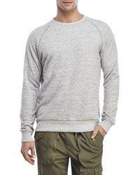 Alternative Apparel | Gray Knit Raglan Sweatshirt for Men | Lyst