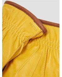 Hestra | Ornberg Gloves Yellow for Men | Lyst