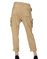 Kai-aakmann Natural Light, Loose Drill Cargo Trousers