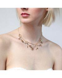 Tessa Metcalfe   Metallic Victoria Charm Necklace   Lyst