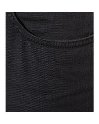 Acne Studios - Black Pop Power Cropped Jeans - Lyst