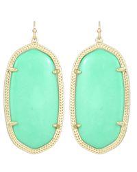 Kendra Scott | Blue Danielle Earrings, Seafoam | Lyst