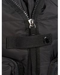 Moncler - Black Quilted Nylon Backpack for Men - Lyst