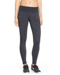 Zella - Blue Urbanite Jersey Leggings - Lyst