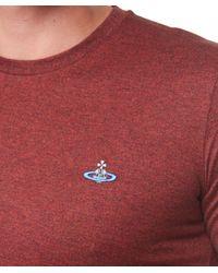 Vivienne Westwood - Red Orb T-Shirt for Men - Lyst