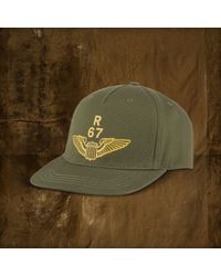 Lyst - Denim   Supply Ralph Lauren Airforce Baseball Cap in Green ... ce0a3bb39d6f