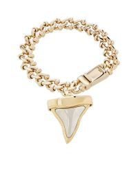 Givenchy - White Shark Tooth Bracelet - Lyst