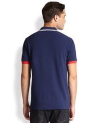 Fred Perry - Blue France World Cup Polo for Men - Lyst