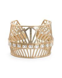 Melinda Maria | Metallic 'Natasha' Cutout Cuff | Lyst
