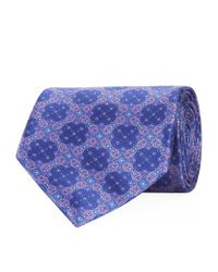 Stefano Ricci - Blue Small Circles Tie for Men - Lyst