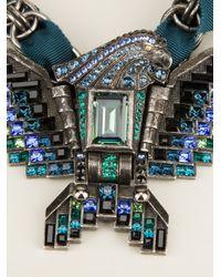 Lanvin Black Necklace
