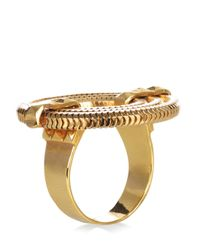 Lara Bohinc - Metallic Apollo Gold Tone Ring - Lyst