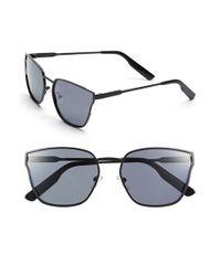 Jason Wu Black 'torri' 55mm Metal Sunglasses