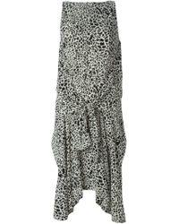 Kitx White Reversible Silk Dress