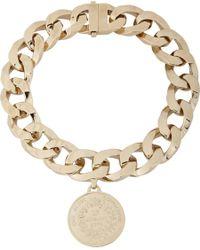 Givenchy | Metallic Medallion Pendant Choker | Lyst
