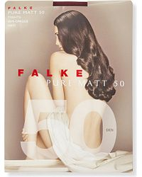 Falke | Purple Pure Matt 50 Tights | Lyst