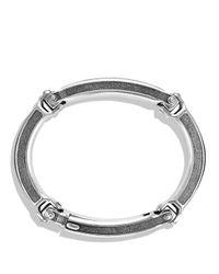 David Yurman Metallic Chevron Id Bracelet for men