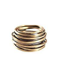 Jo Handbags | Metallic Wire Ring | Lyst