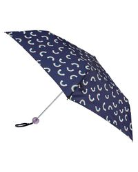 Accessorize - Blue Over The Rainbow Superslim Umbrella - Lyst