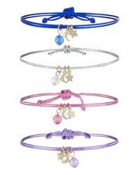 Accessorize - Multicolor 4x Ombre Friendship Bracelet Pack - Lyst