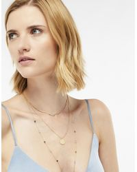 Accessorize - Blue Ophelia Layered Necklace - Lyst