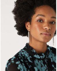Accessorize Multicolor Sparkly Cupchain Earrings
