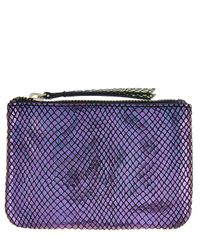 Accessorize Multicolor Laura Disco Snake Small Leather Coin Purse