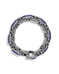 David Yurman | Metallic Maritime Anchor Link Bracelet for Men | Lyst