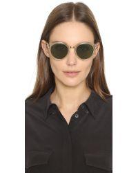 Oliver Peoples Green Spelman Sunglasses